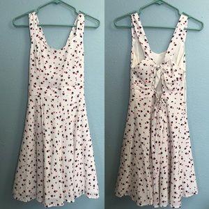 Mini Mouse pattern dress